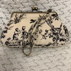 Vintage Clutch Wallet with Clasp